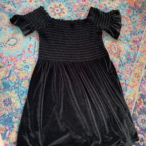 Urban Outfitters trendy velvet mini dress!